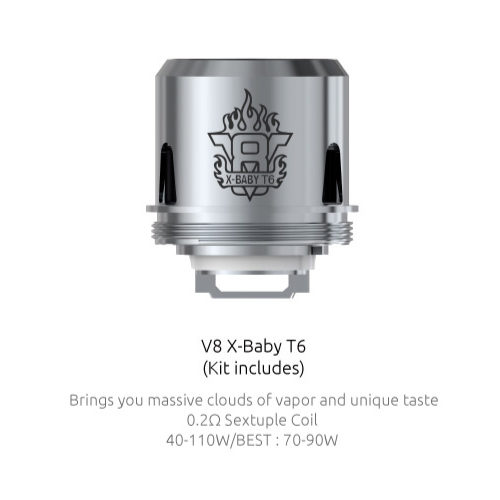 TFV8 X-Baby Coil